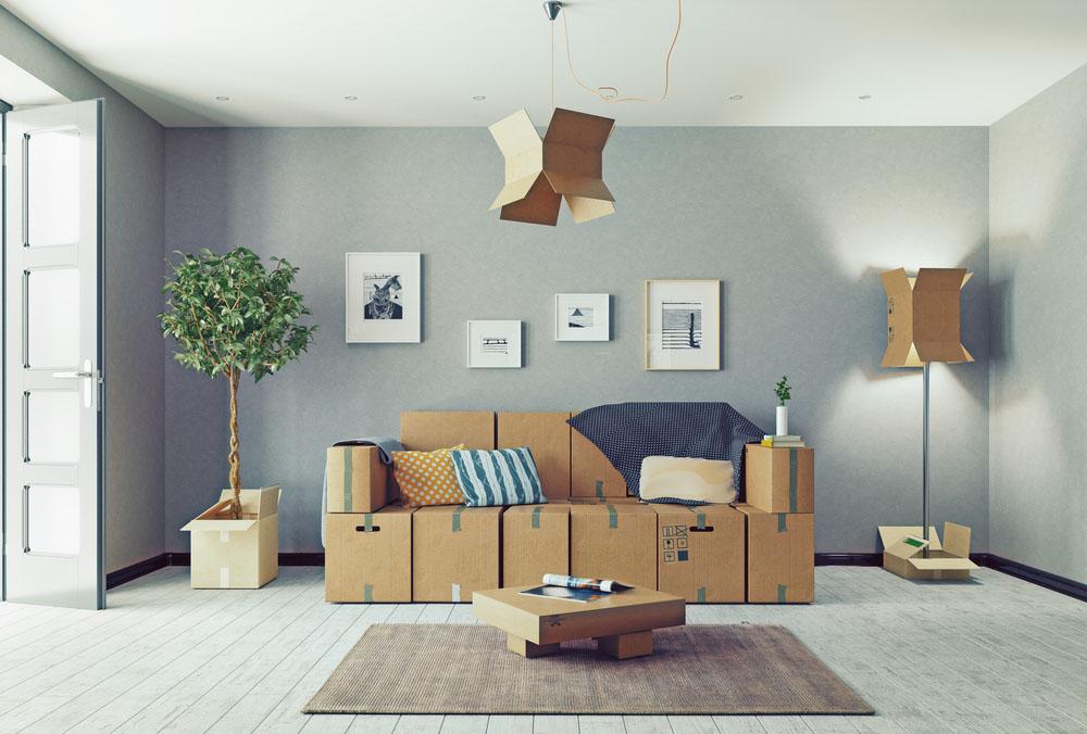 préparer ses meubles avant de les stocker