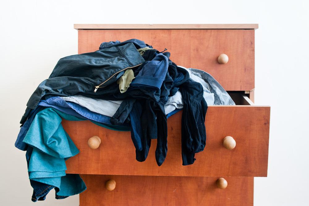 stocker vêtements garde-meuble Lyon